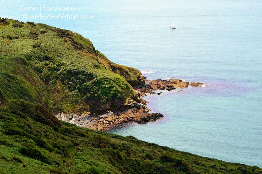 Walking to Lantic Bay