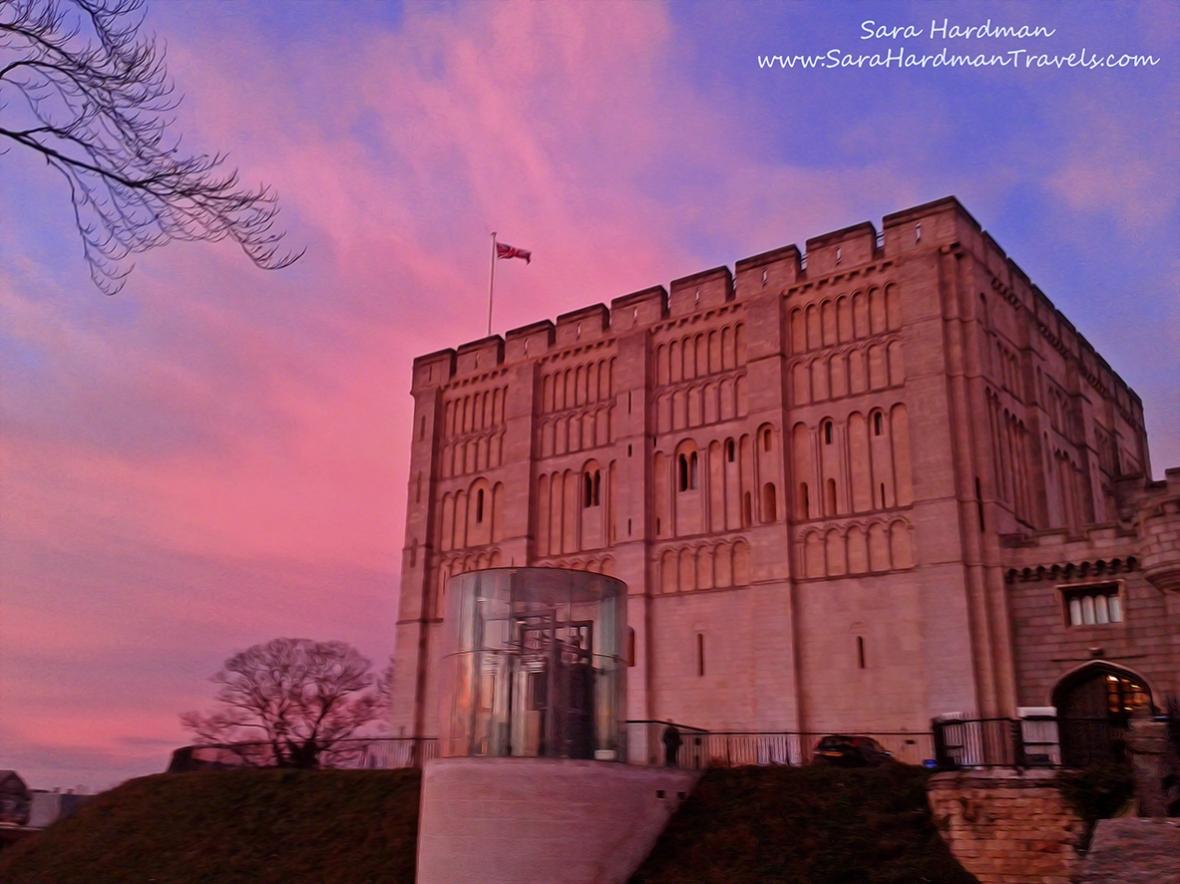 Norwich Castle by Sara Hardman