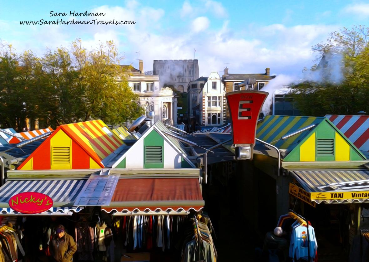 Norwich Market by Sara Hardman