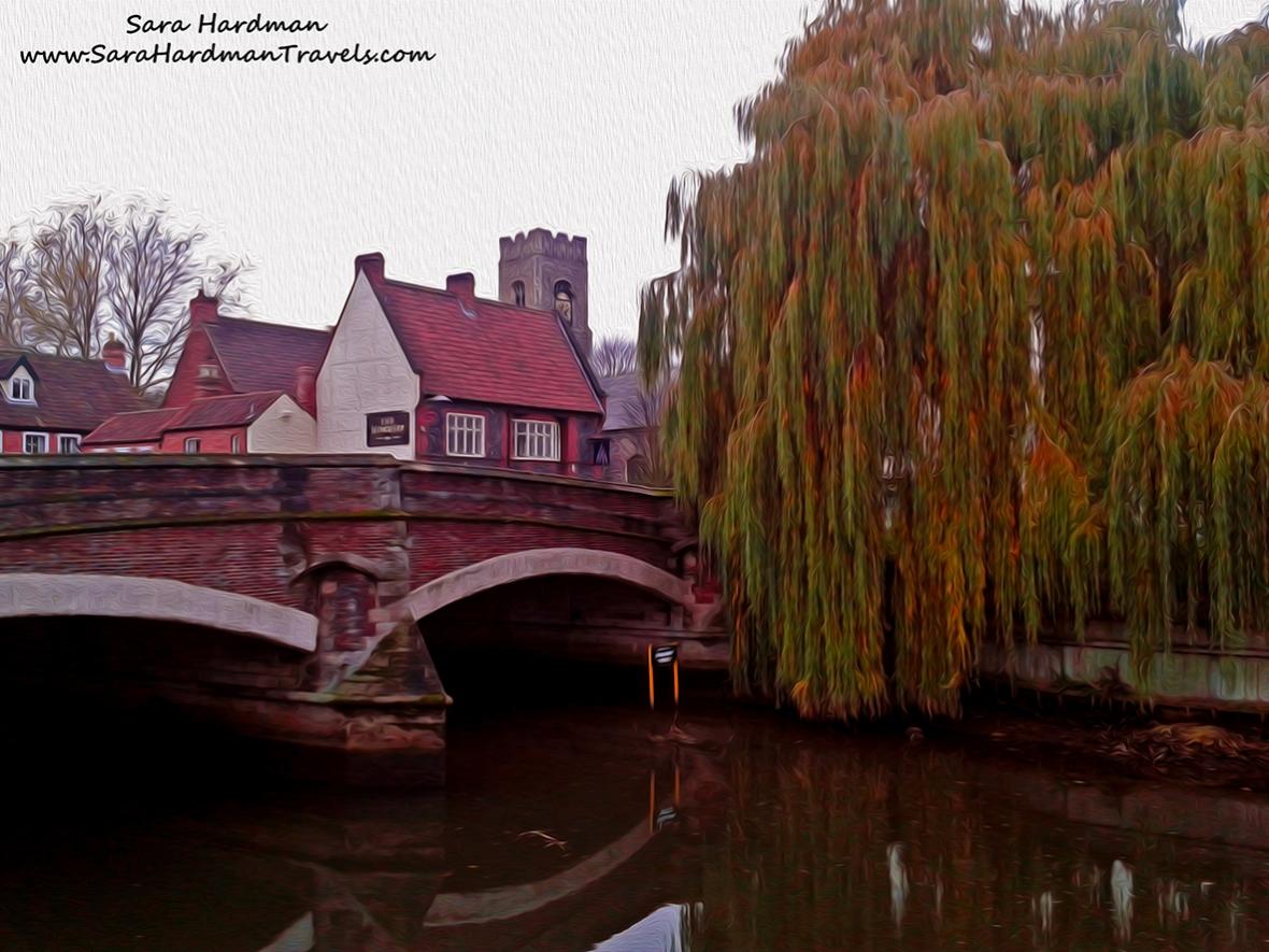 Fye Bridge, Norwich by Sara Hardman