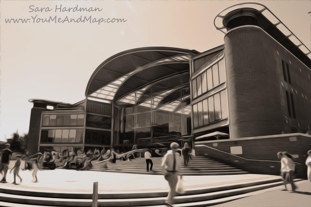 The Forum, Norwich, by Sara Hardman