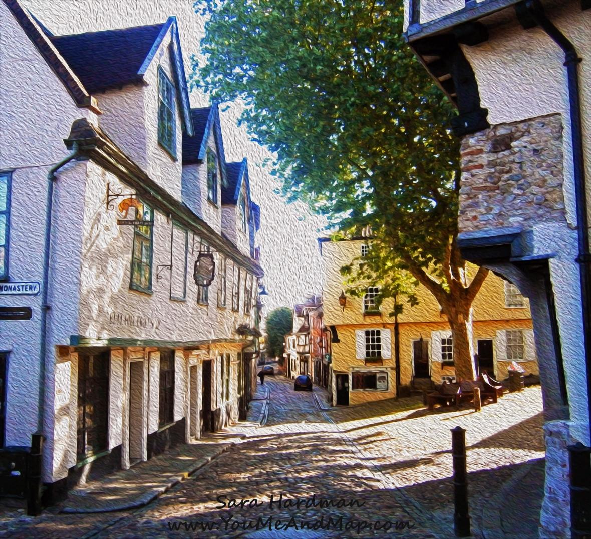 Elm Hill, Norwich by Sara Hardman