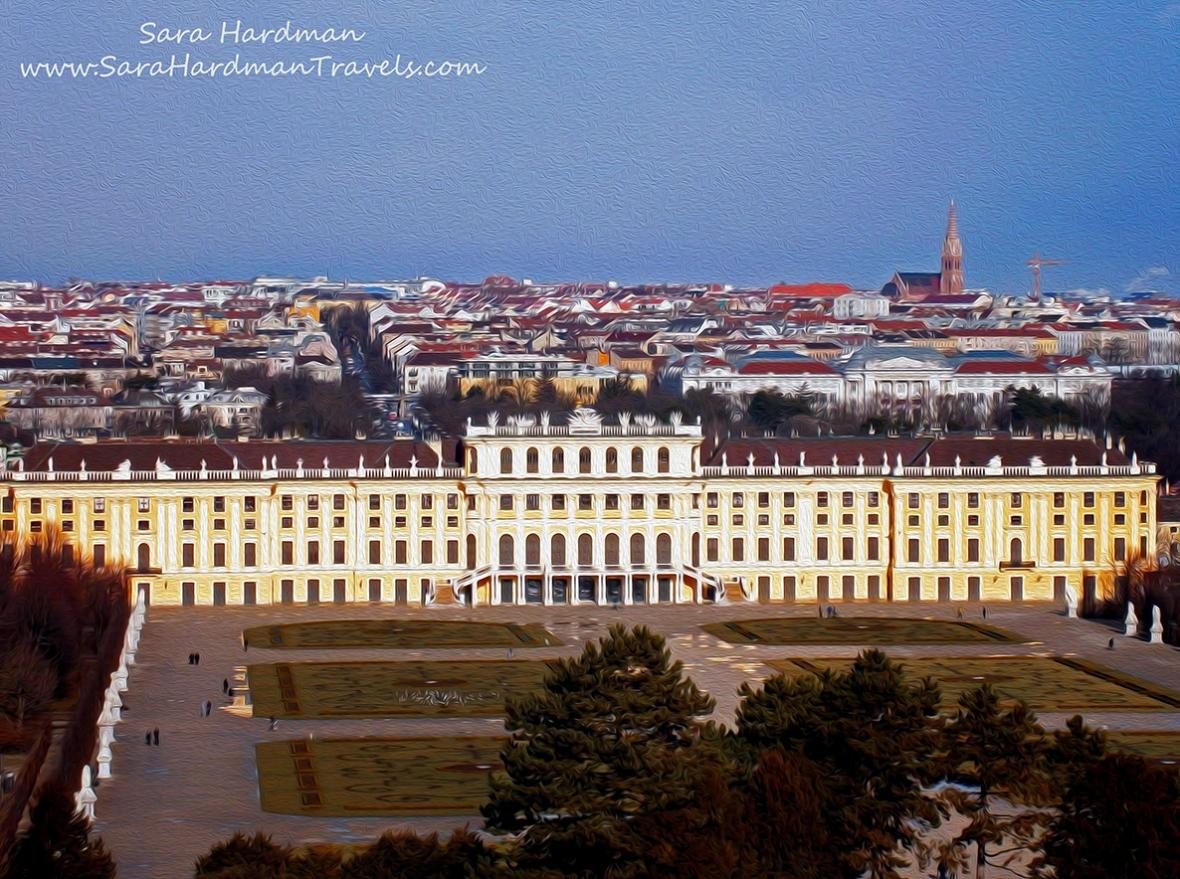 schonbrunn palace by Sara Hardman