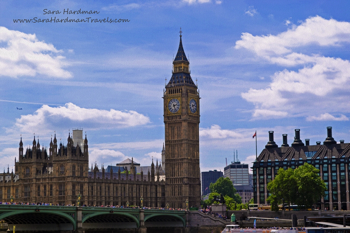 Houses of Parliament by Sara Hardman