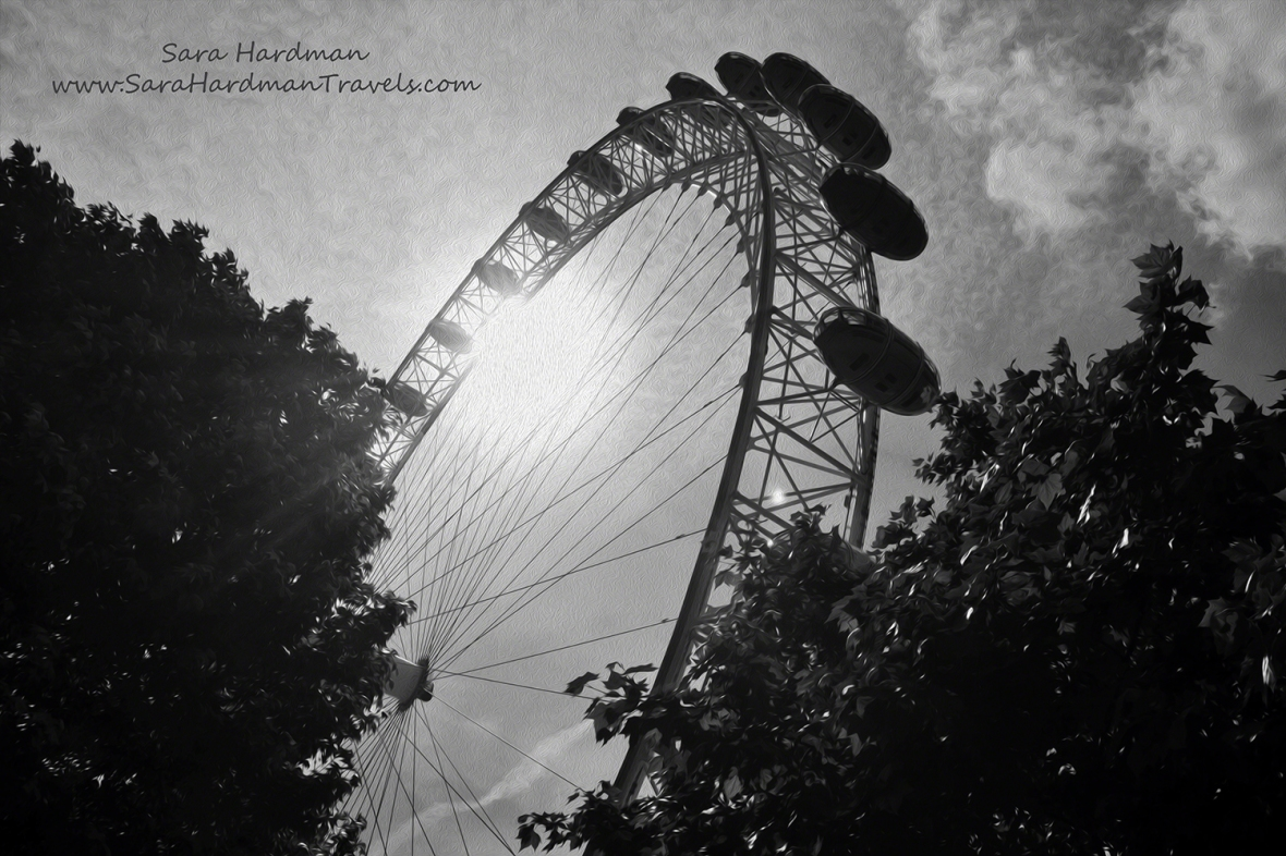 London Eye by Sara Hardman