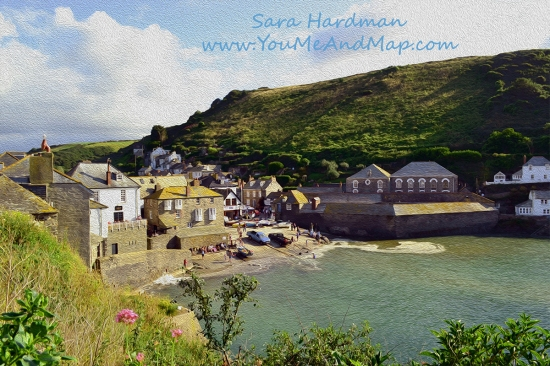 Port Isaac by sara Hardman