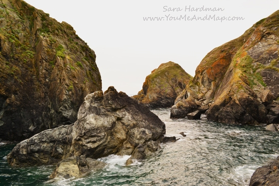 Mullion Cove by Sara Hardman