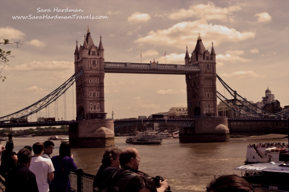Tower Bridge by Sara Hardman