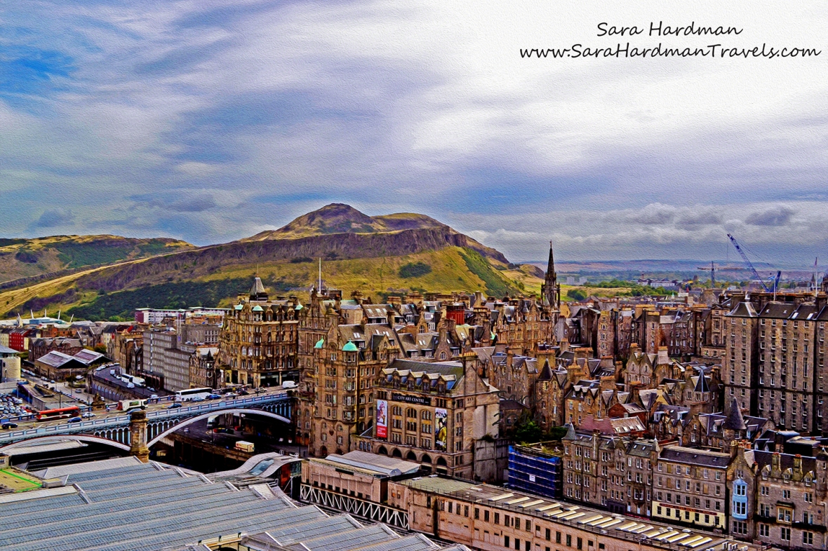 Edinburgh by Sara Hardman Travles