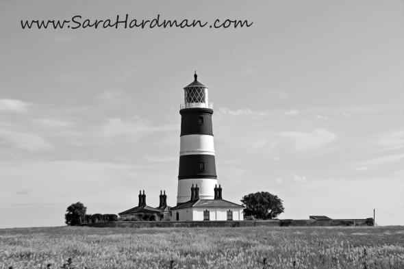 Happisburgh Lighthouse by Sara Hardman