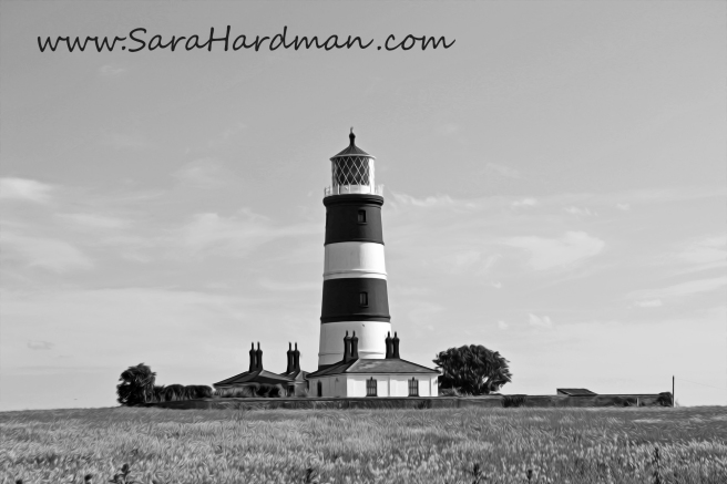 Happisburgh Lighthouse by Sara Hardman