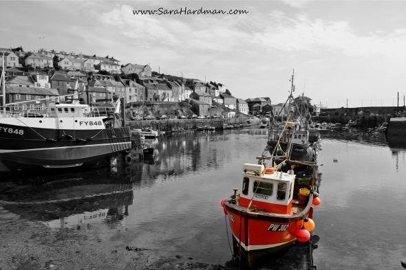 Mevagissey Cornwall by Sara Hardman