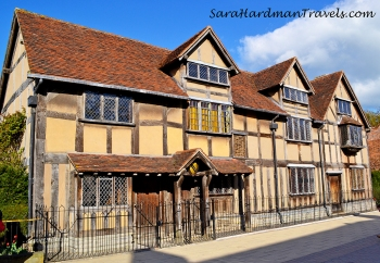 Shakespeare's Birthplace by Sara Hardman