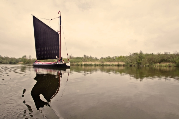 Wherry Albion, Sara Hardman Travels