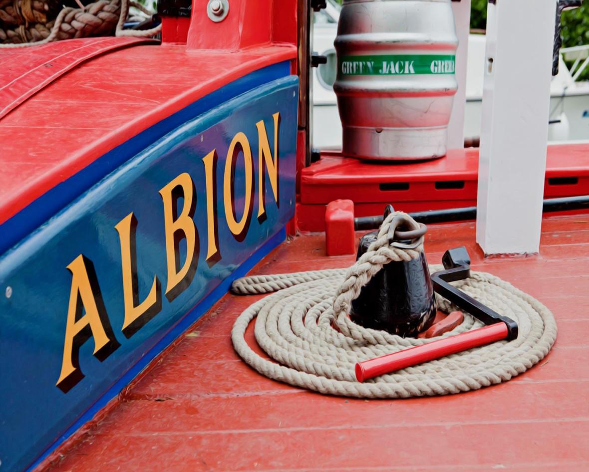 Wherry Albion, Sara Hardman Travels