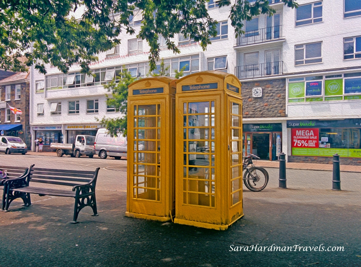 Guernsey Phone Boxes
