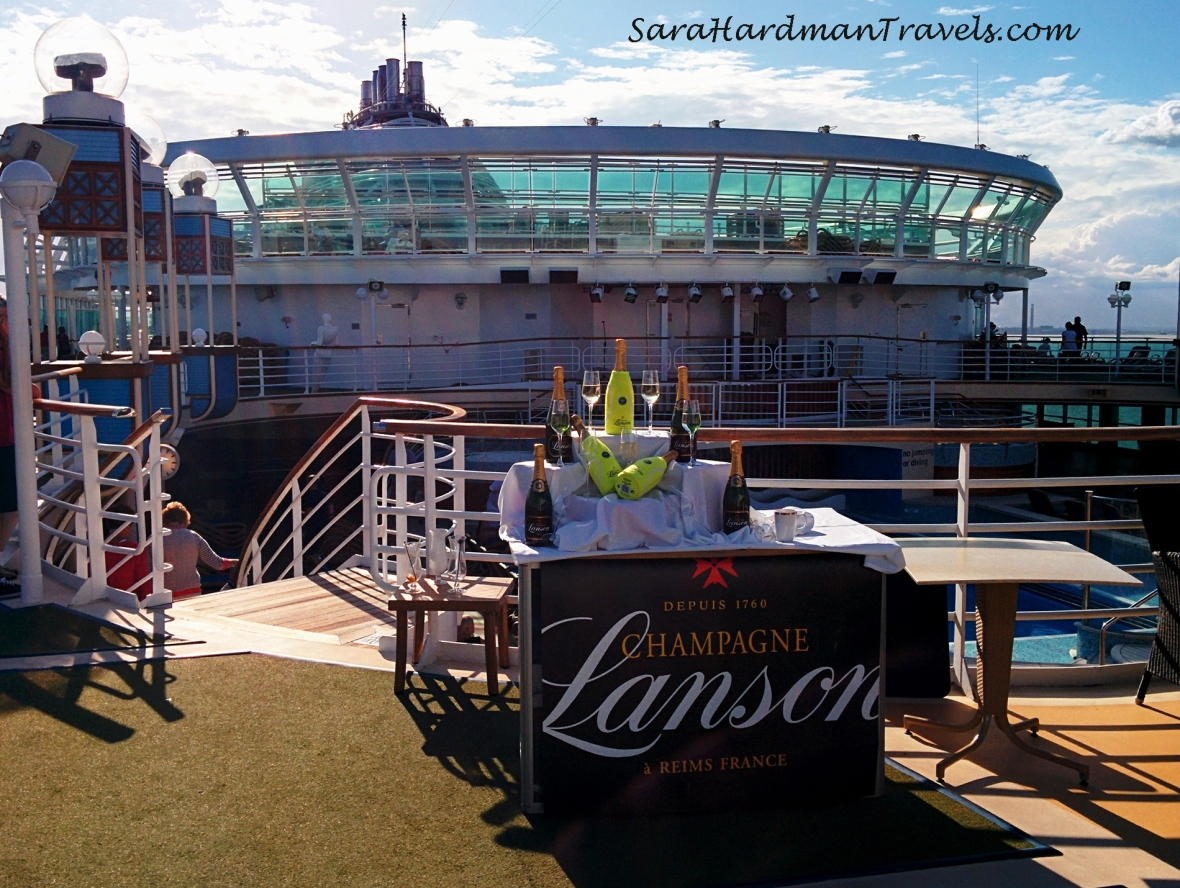 Azura P&O Cruises Sara Hardman