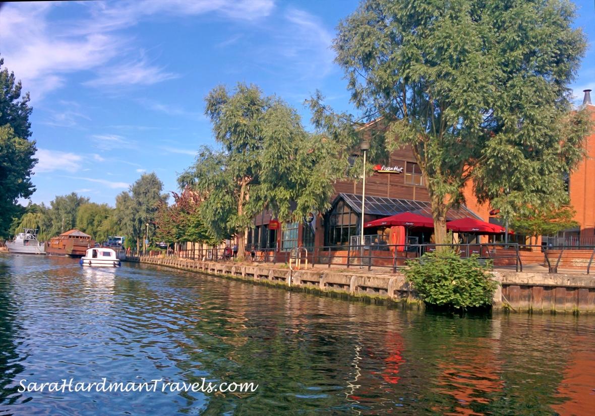 Sara Hardman Travels Norwich City Boats