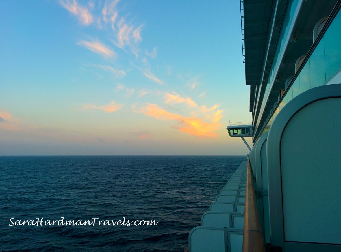 P&O Cruises Azura Sara Hardman