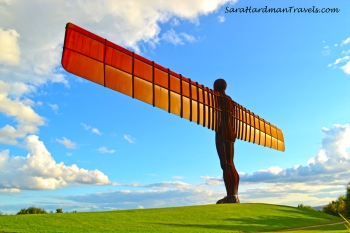 Sara Hardman Travels Angel of the North