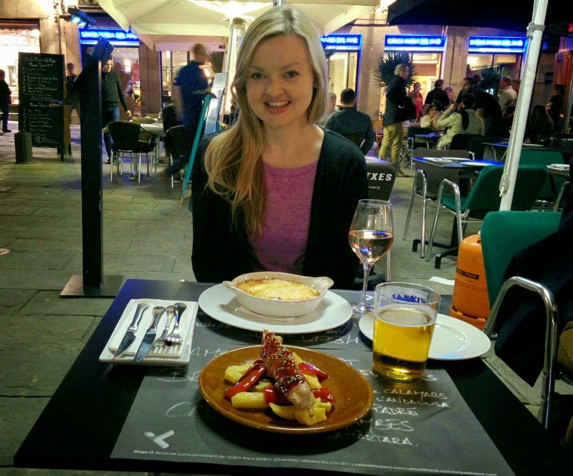 Birthday in Barcelona
