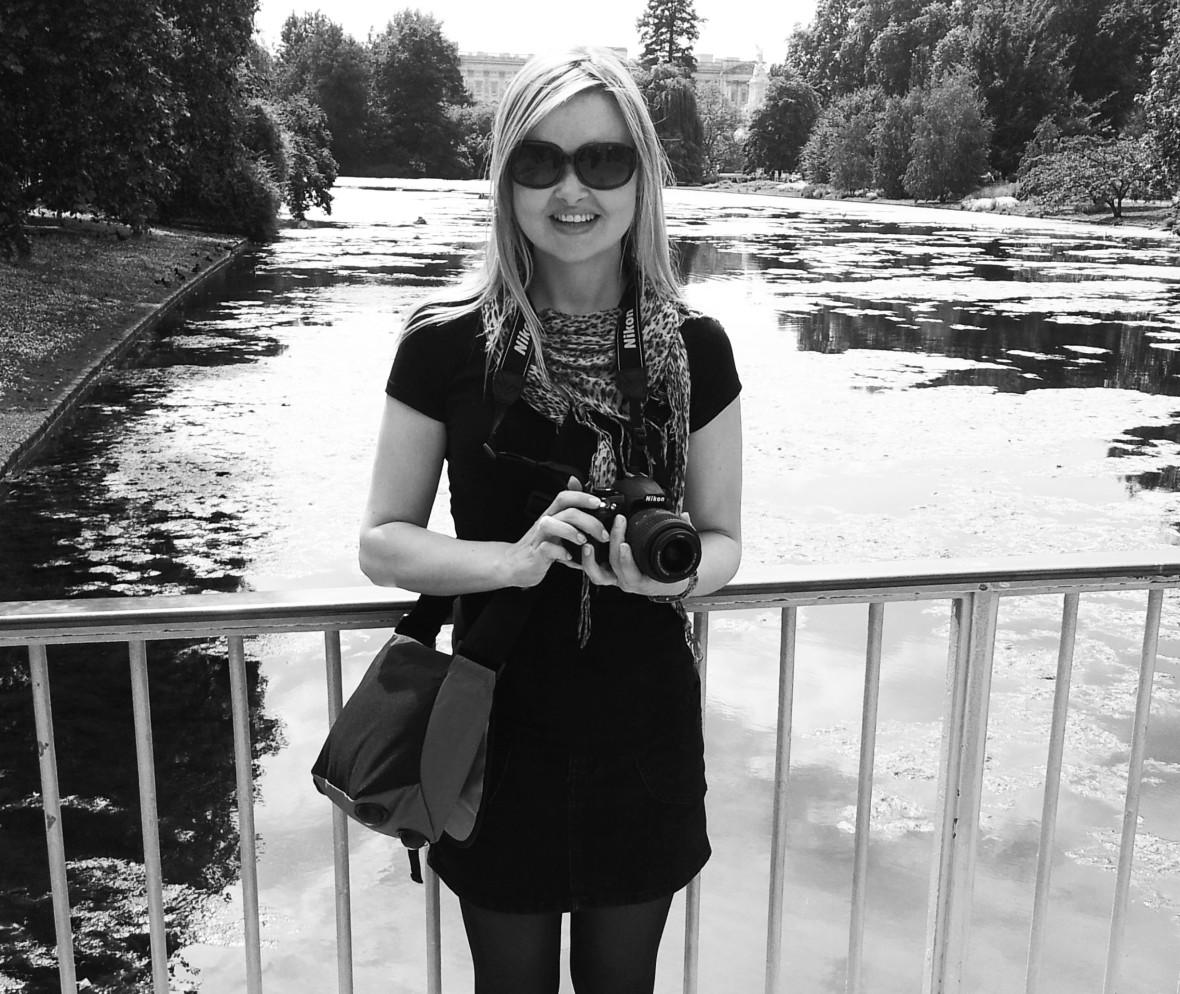 Taking photos in London
