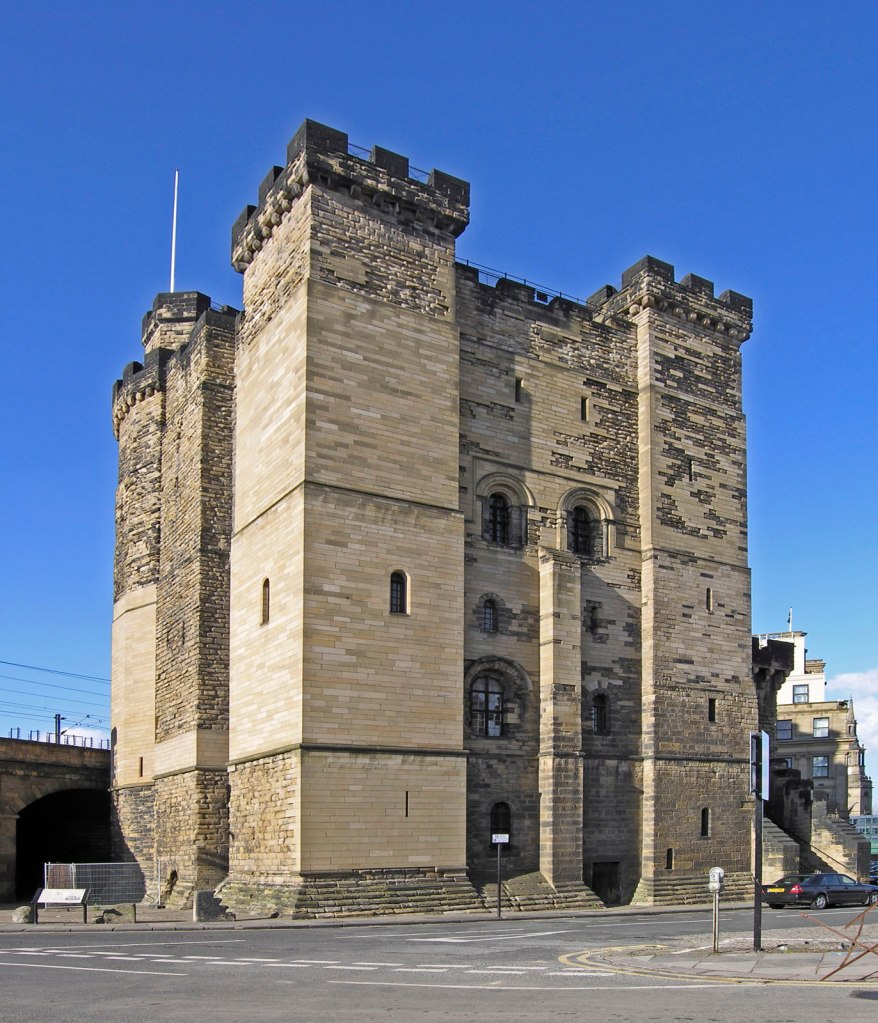 Newcastle Castle Keep is the oldest structure in the city. (WikiMedia Commons)