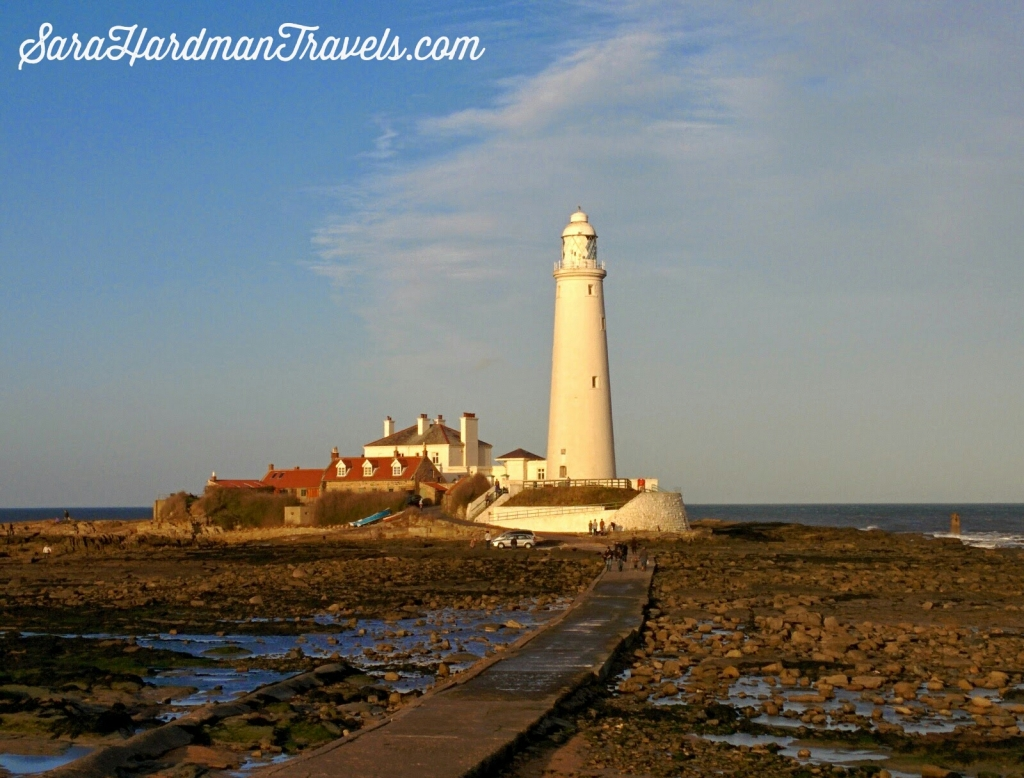 Sara Hardman Travels. St Mary's Island, Whitley Bay