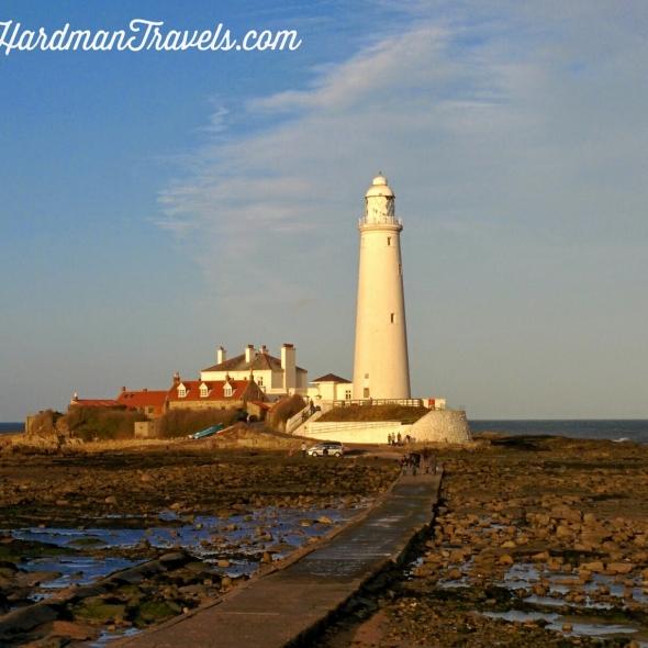 Sara Hardman Travels. St Mary's Island, Whitley Bay